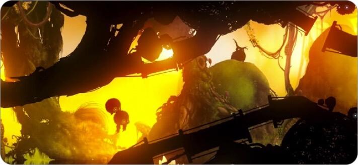 скриншоты игры badland для двух игроков iphone