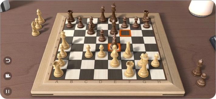реальные шахматы 3d скриншот игры iphone и ipad