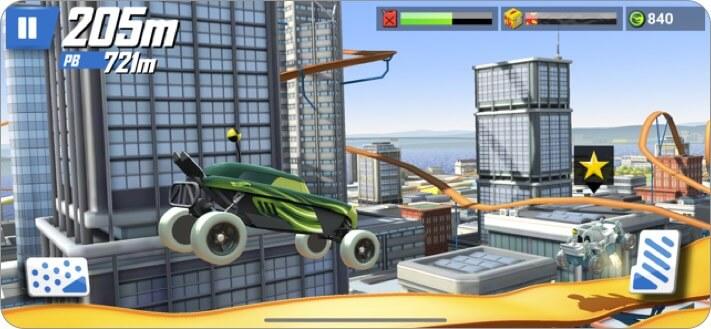 горячие колеса: гонка с iphone и ipad скриншот детской игры