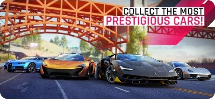 скриншот игры iphone asphalt 9