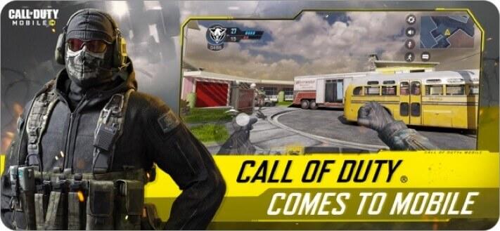 скриншот игры call of duty для iphone