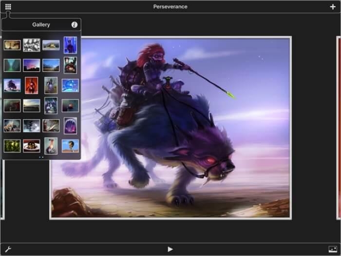 скриншот приложения для ipad inspire pro