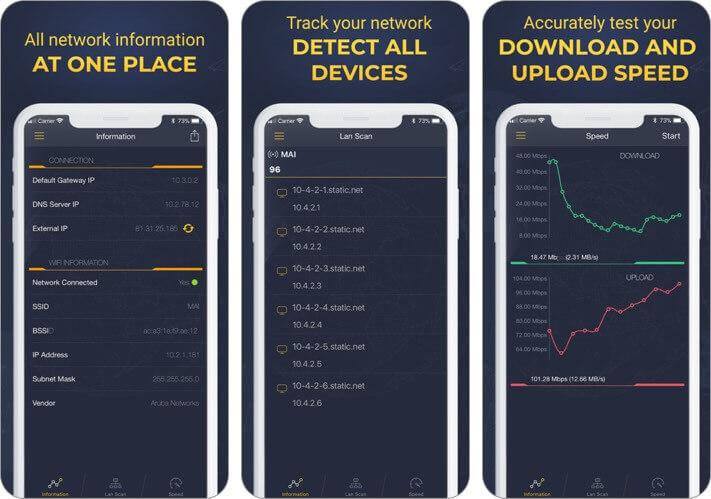 мастер сетевого анализатора скриншот приложения для iphone и ipad
