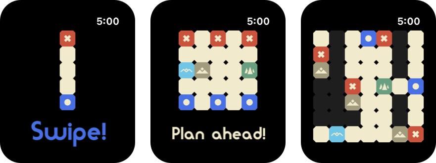 крошечные армии Apple Watch скриншот игры