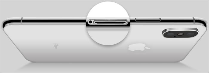 Загляните внутрь сим-слота iPhone