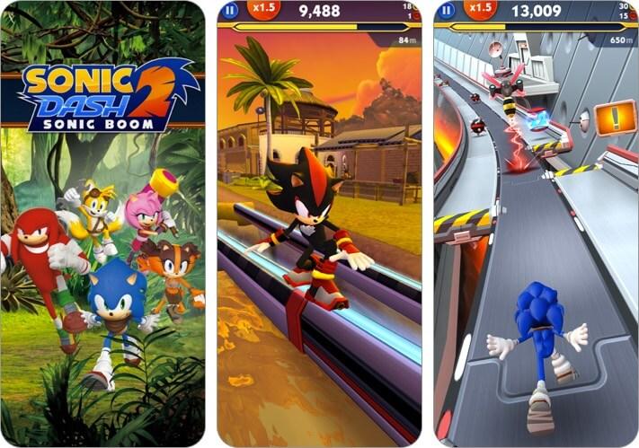 Скриншот игры Sonic Dash 2 для iPhone и iPad