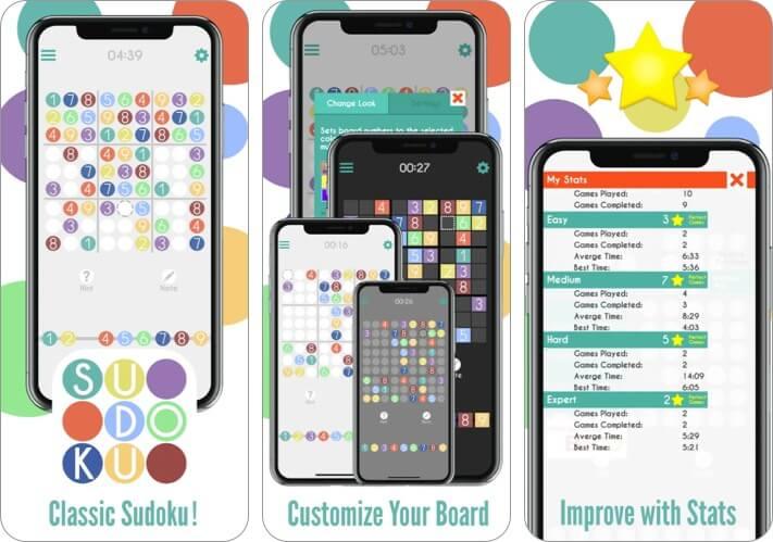 Sudoku von Banana & Co iPhone und iPad Spiel Screenshot