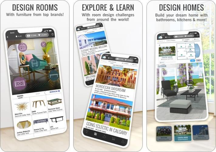Скриншот приложения Design Home House Renovation для iPhone и iPad