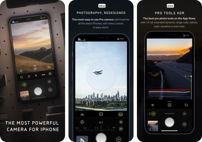Halide Mark II Pro Camera RAW Photo Editing Снимок экрана приложения для iPhone и iPad