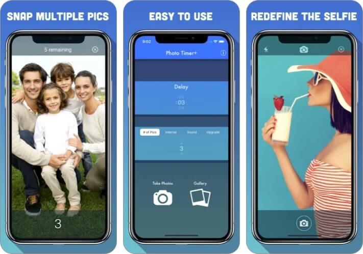 Photo Timer + Скриншот приложения Food Photography для iPhone и iPad