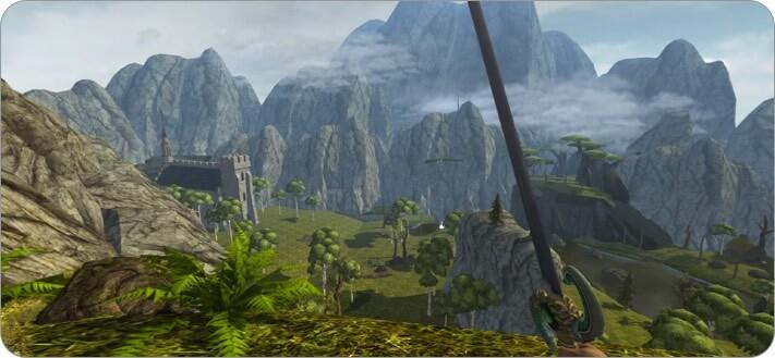 Скриншот ролевой игры Ravensword Shadowlands для iPhone и iPad