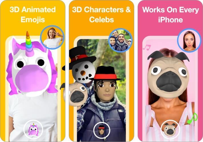 Скриншот приложения Supermoji для iPhone и iPad Emoji