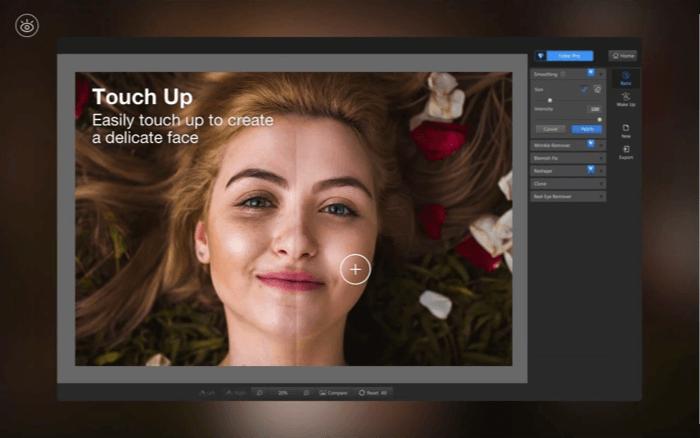 Приложение Fotor Photo Editor для Mac Скриншот