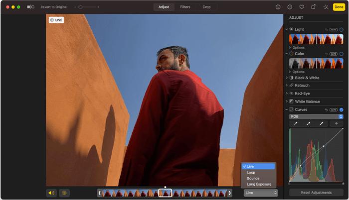 Фото Приложение для редактирования фотографий для Mac Скриншот