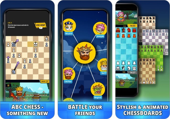 Скриншот игры Chess Universe для iPhone и iPad