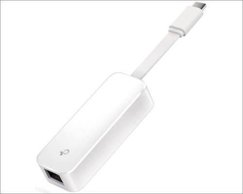 Адаптер TP-Link USB C - Ethernet для MacBook