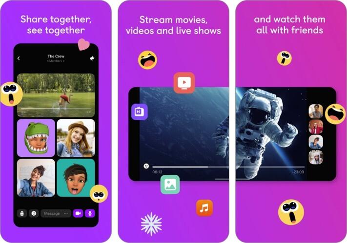 Скриншот приложения ко Дню святого Валентина Airtime для iPhone