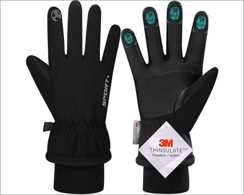 Перчатки Genic с сенсорным экраном для iPhone и iPad