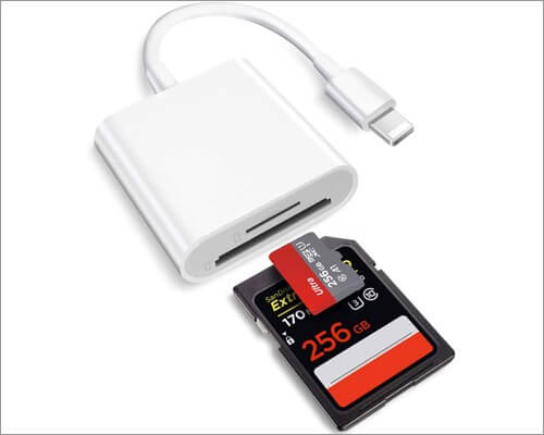 Plusysee Lightning to SD Card Camera Reader для iPhone и iPad
