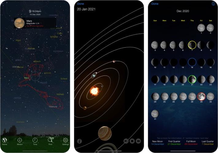 Скриншот приложения Pocket Universe Stargazing для iPhone и iPad