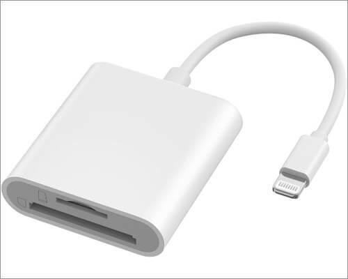VOGEK Lightning to SD Card Camera Reader для iPhone и iPad