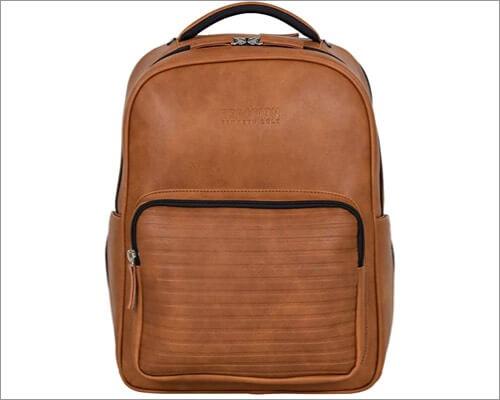 Рюкзак для MacBook из веганской кожи с защитой от краж Kenneth Cole
