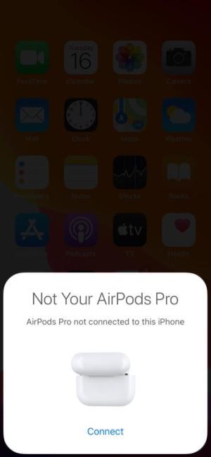 Нажмите «Подключиться» и следуйте инструкциям на экране на iPhone.