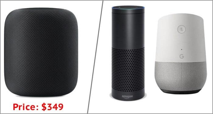 Цены на Apple HomePod на момент запуска