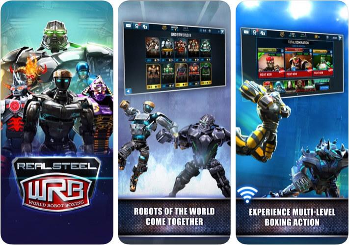 Скриншот приложения Real Steel World Robot Boxing Game для iOS