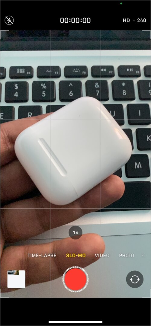 Добавьте эффект замедленного видео с помощью приложения iPhone Camera