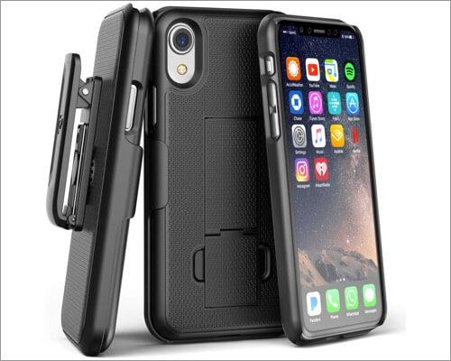 чехол-кобура duraclip с поясом для iphone xr