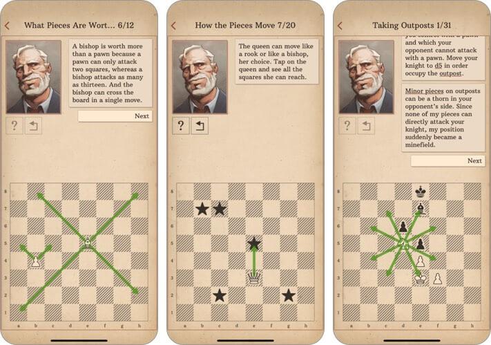 научиться шахматам с доктором волком iphone и ipad скриншот игры