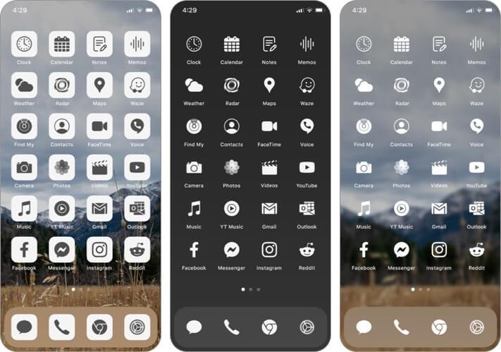 Набор иконок приложения Ruffsnap для iPhone и iPad