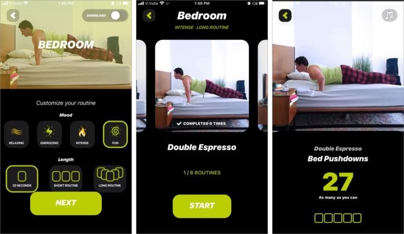 Настройте свой распорядок дня с помощью приложения Wakeout для iOS