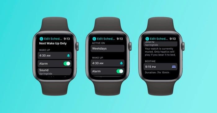 Родной трекер сна Apple Watch