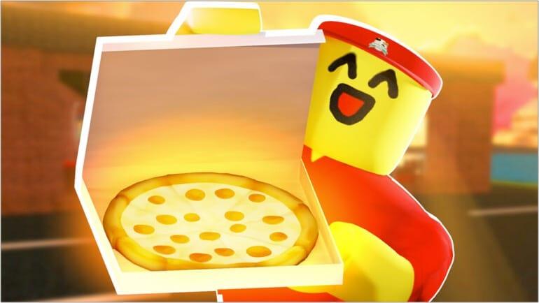 Работа в пиццерии игра Roblox