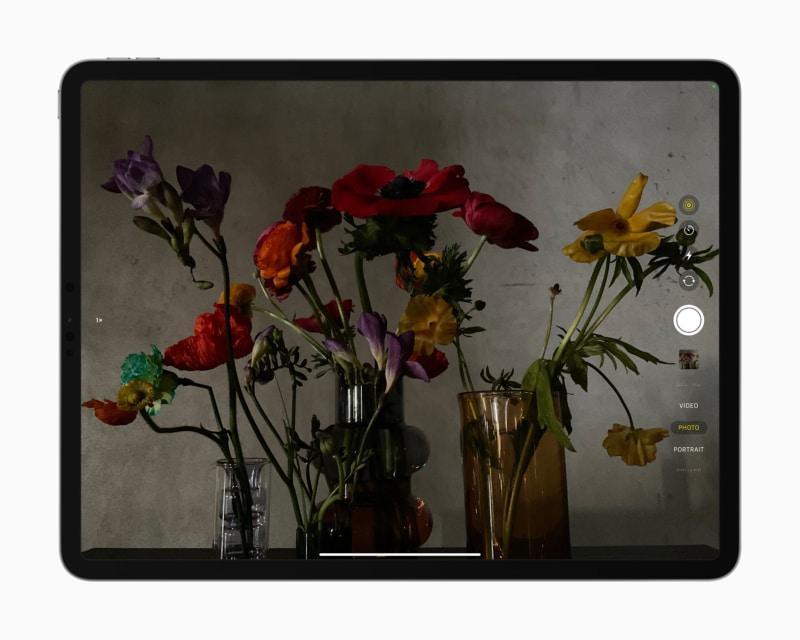 Камеры нового iPad Pro 2021 года