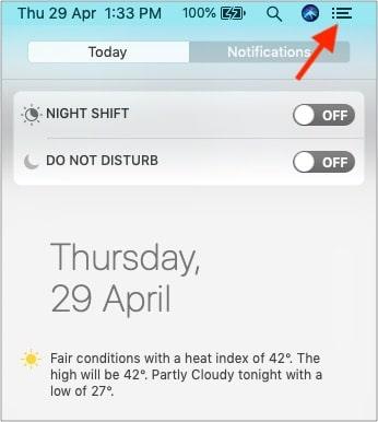 Убедитесь, что на Mac отключен режим