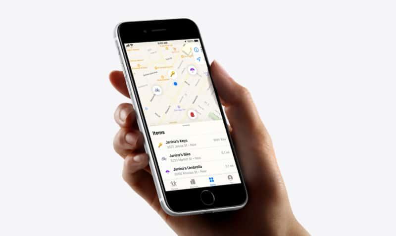 Verwenden Sie Find My App, um Sound zu verfolgen und abzuspielen, wenn ein Objekt mit AirTag in der Nähe verlegt wurde