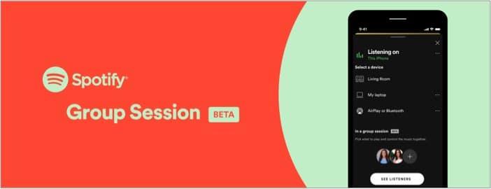 Групповая сессия Spotify - что нужно знать