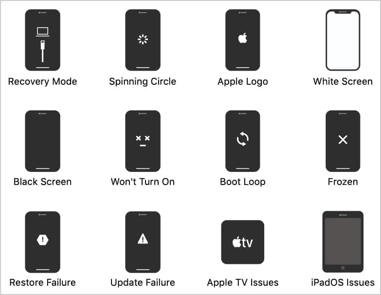 Некоторые проблемы iPhone может решить FixGo