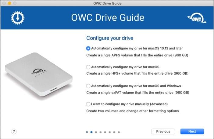 Kompatibilität von OWC Envoy Pro Elektron