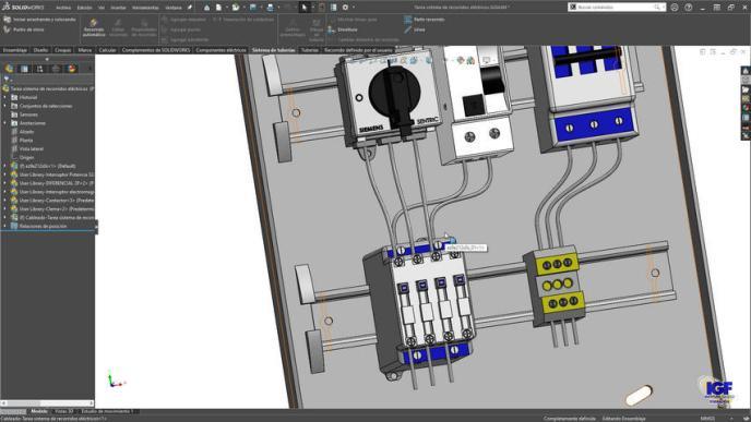 Curso online SolidWorks recorridos eléctricos - igf.es