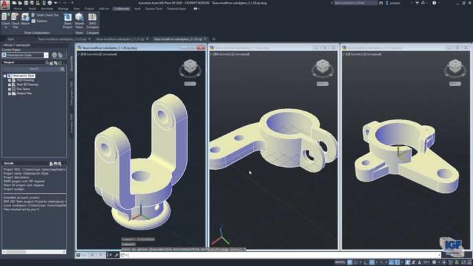 Curso online AutoCAD 3D - igf.es