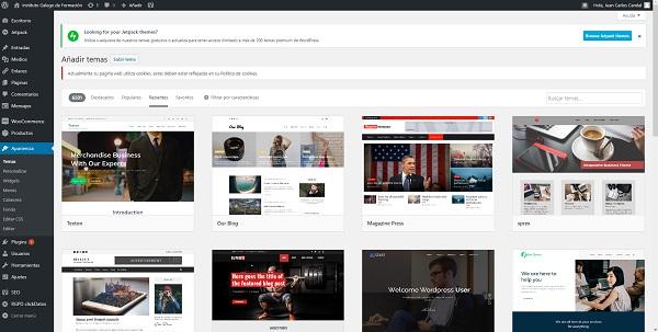 WordPress en el Instituto Galego de Formación