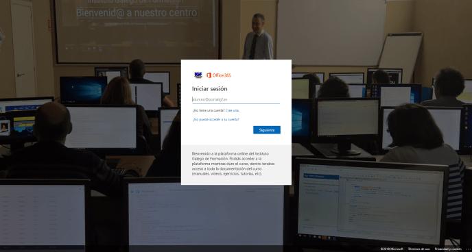 Office 365 gratis en el Instituto Galego de Formación