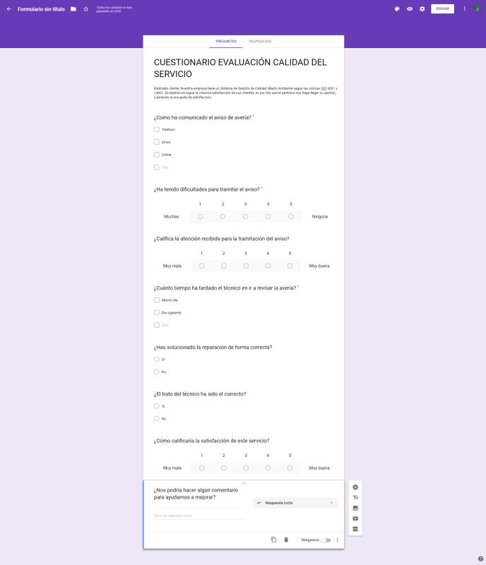 Cuestionario completo - Instituto Galego de Formación