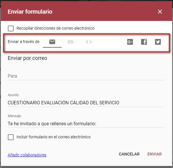 Enviar formulario - Instituto Galego de Formación