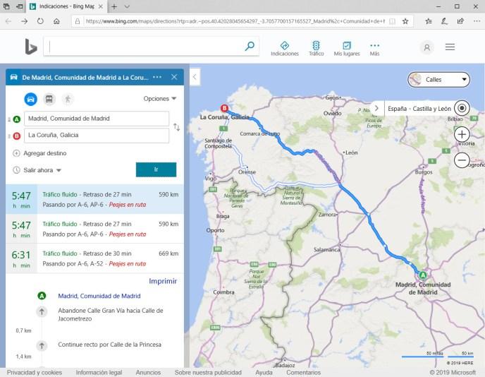 Bing maps en Windows 10  - Instituto Galego de Formación