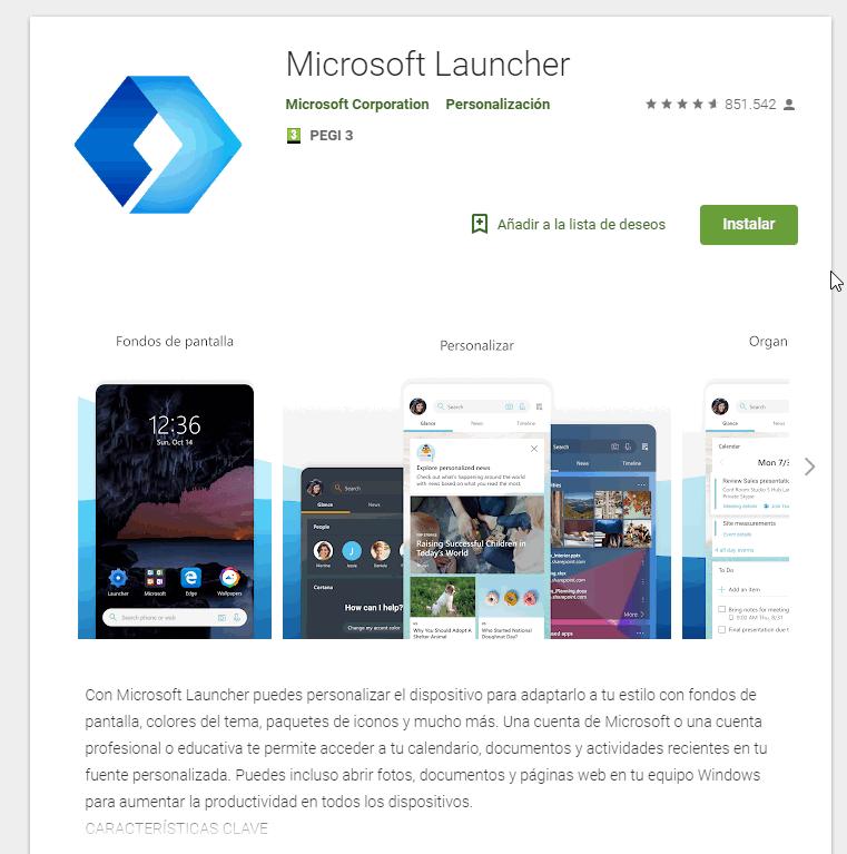 Microsoft Launcher - Instituto Galego de Formación